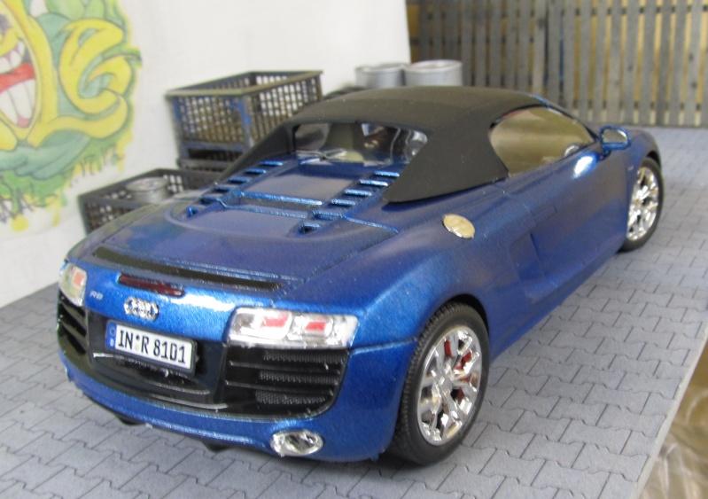 Audi R8 Spyder in 1 zu 24 von Revell Img_3422