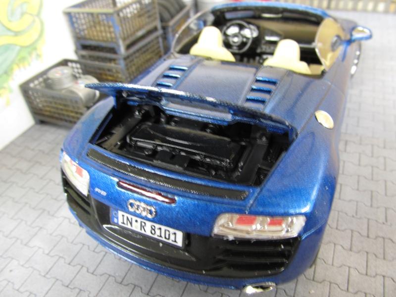 Audi R8 Spyder in 1 zu 24 von Revell Img_3425