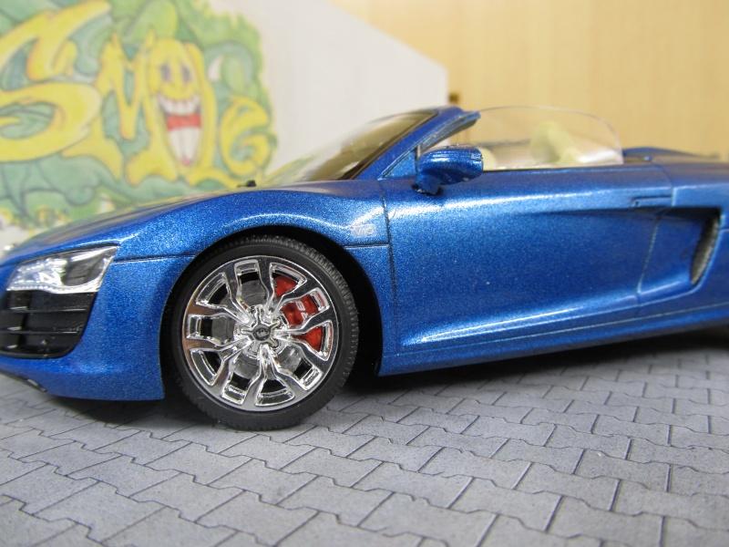 Audi R8 Spyder in 1 zu 24 von Revell Img_3426