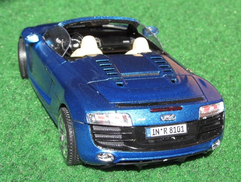 Audi R8 Spyder in 1 zu 24 von Revell Img_3430