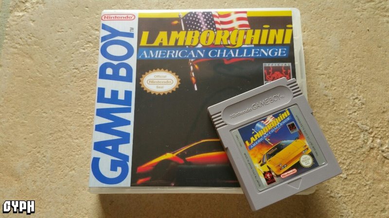 Lamborghini American Challenge Gameboy : cover ! un autre challenge ;) 20150736