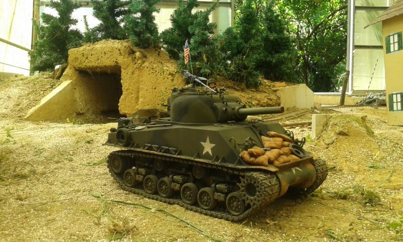Sherman M4  105 mm Tamiya - Restyling totale 20150618