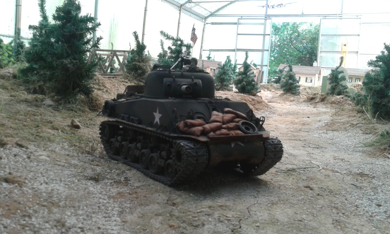 Sherman M4  105 mm Tamiya - Restyling totale 20150619
