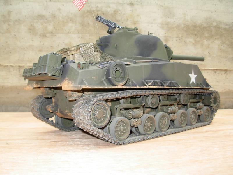 Sherman M4  105 mm Tamiya - Restyling totale Dscn0124