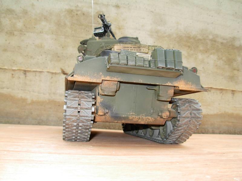 Sherman M4  105 mm Tamiya - Restyling totale Dscn0127