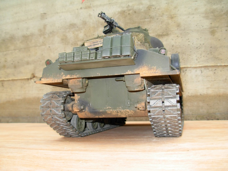 Sherman M4  105 mm Tamiya - Restyling totale Dscn0133