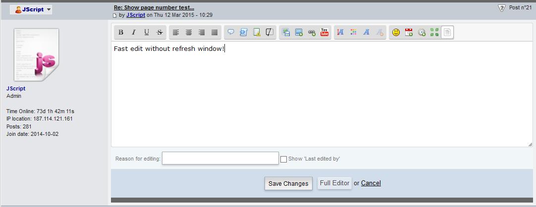 التعديل السريع للمساهمة بدون فتح صفحة جديدة Captur14