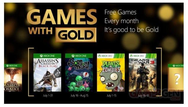 Xbox Live Games With Gold : les jeux gratuits de juillet 2015 dévoilés Pollm10