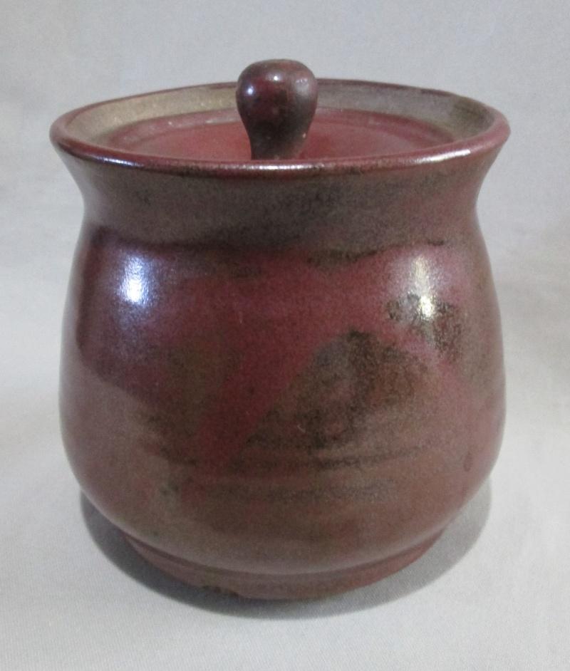 Brown Lidded Pot  Img_2829