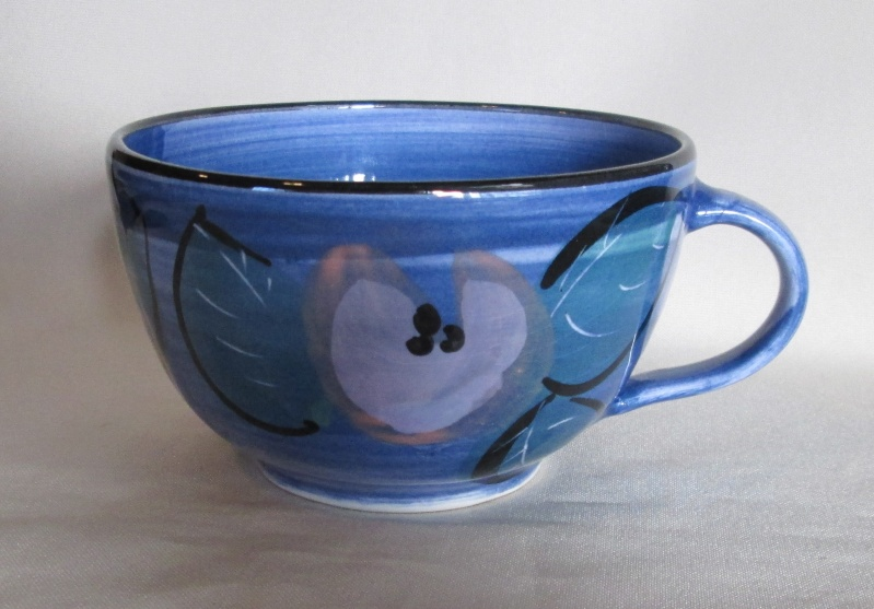 Blue Latte Cup was made by Catharine Dawson Img_3027