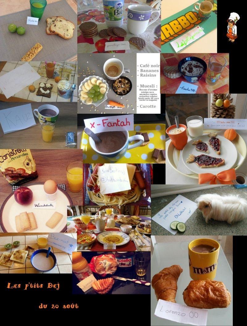 [Résultats concours 10 ans] Le concours Cuisine ! Pdj2010