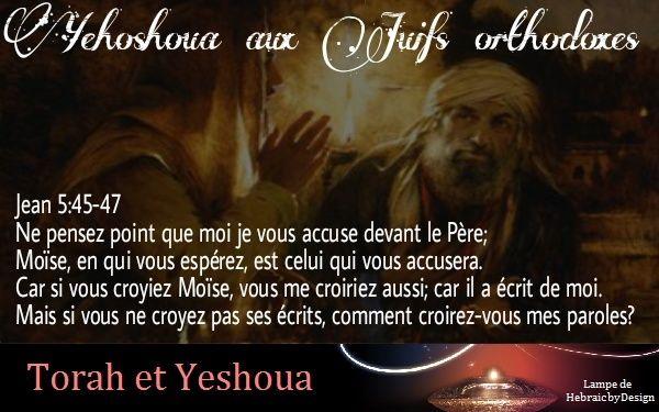 Yehoshoua aux Juifs orthodoxes Yehosh10