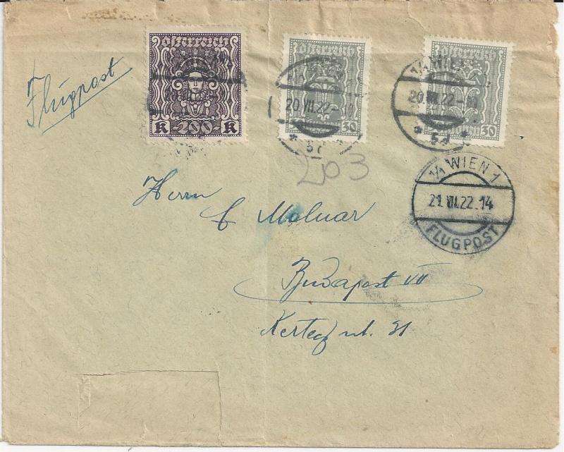 Inflation in Österreich - Belege - 1918 bis 1925 - Seite 4 Bild10