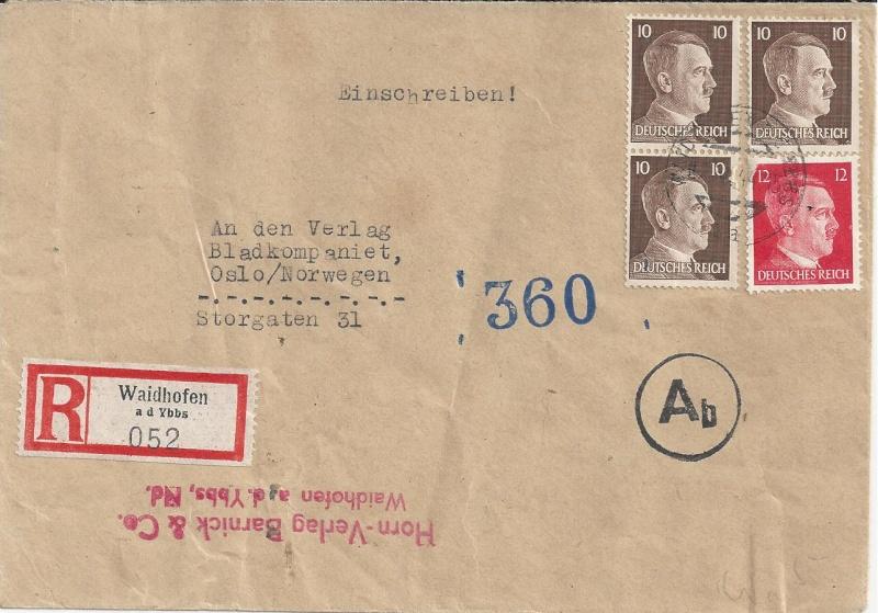 Österreich im III. Reich (Ostmark) Belege - Seite 6 Bild12