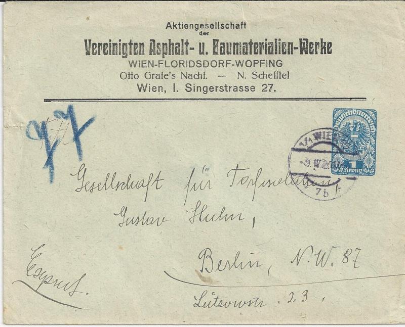 Inflation in Österreich - Belege - 1918 bis 1925 - Seite 4 Bild21