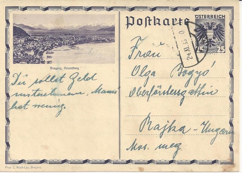 Bedarfspost Ganzsachen Österreich 1925-1938 Bild22