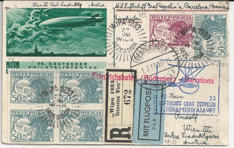 nach - Südamerikafahrt 1930, Post nach Sevilla - Seite 2 Bild24