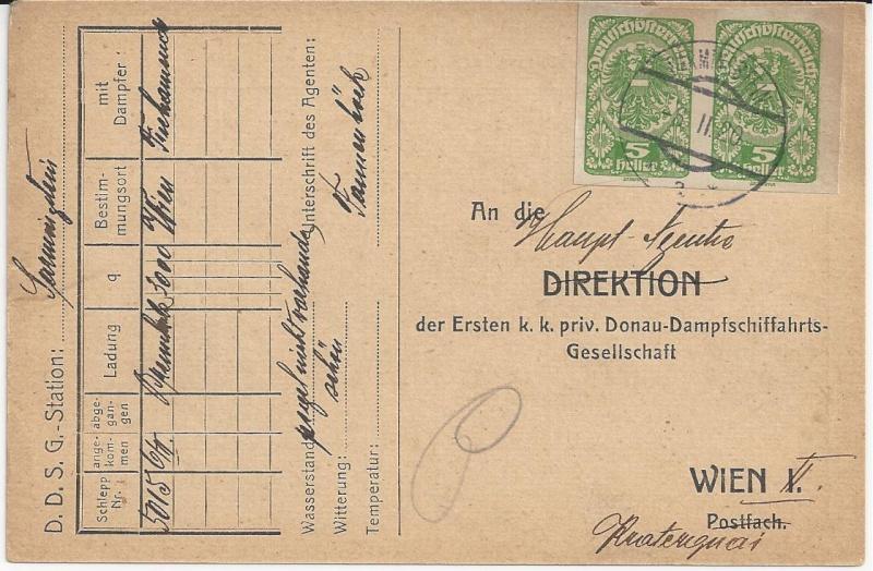 Inflation in Österreich - Belege - 1918 bis 1925 - Seite 4 Bild25