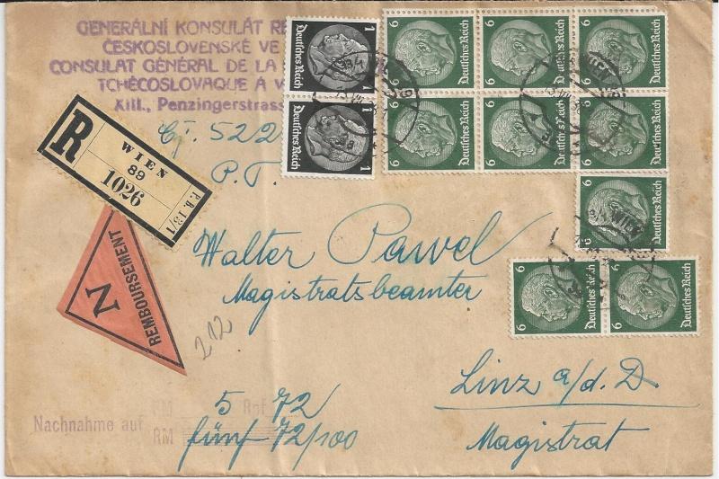 Österreich im III. Reich (Ostmark) Belege - Seite 6 Bild27