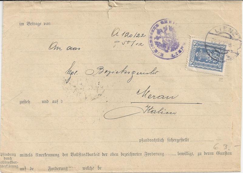 Inflation in Österreich - Belege - 1918 bis 1925 - Seite 5 Bild30