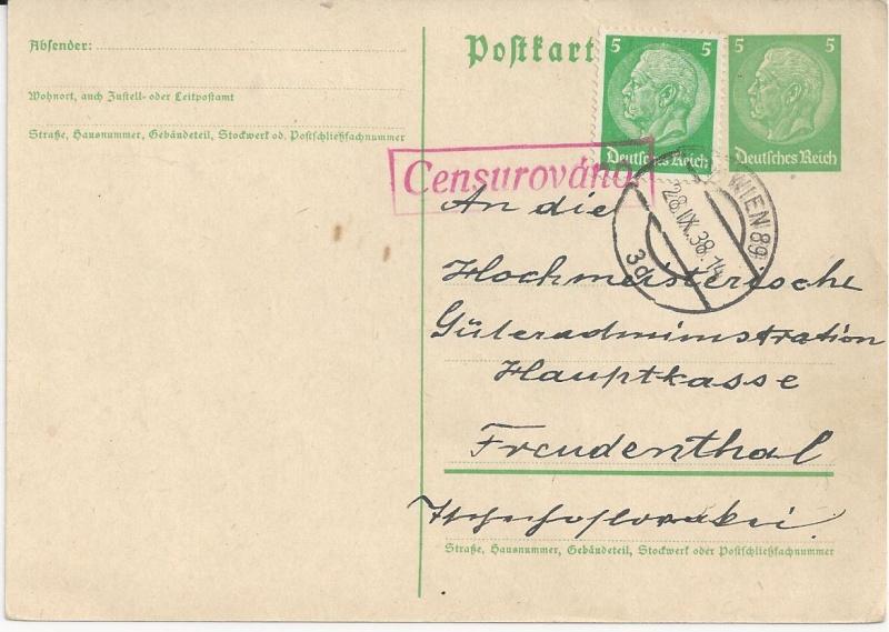 Österreich im III. Reich (Ostmark) Belege - Seite 6 Bild35