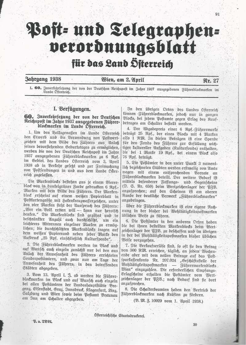 Österreich im III. Reich (Ostmark) Belege - Seite 6 Bild38