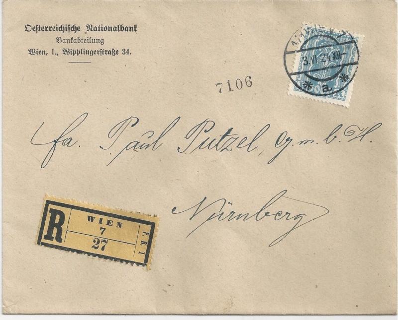 Briefe / Poststücke österreichischer Banken - Seite 3 Bild41