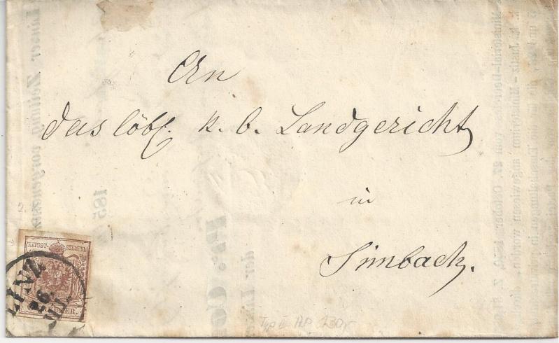 Die erste Österreichische Ausgabe 1850 - Seite 6 Bild42