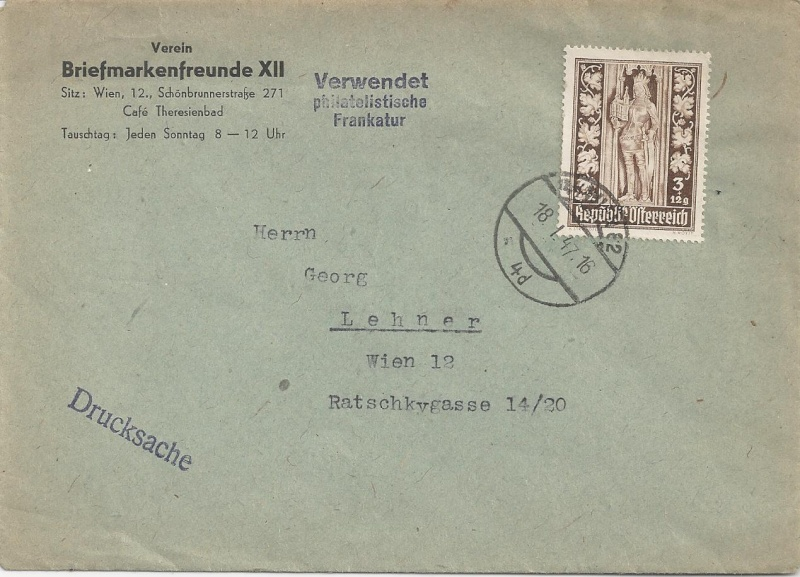 Sammlung Bedarfsbriefe Österreich ab 1945 - Seite 5 Bild55