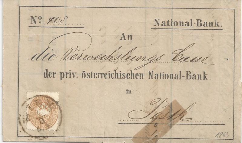 Briefe / Poststücke österreichischer Banken - Seite 3 Bild56