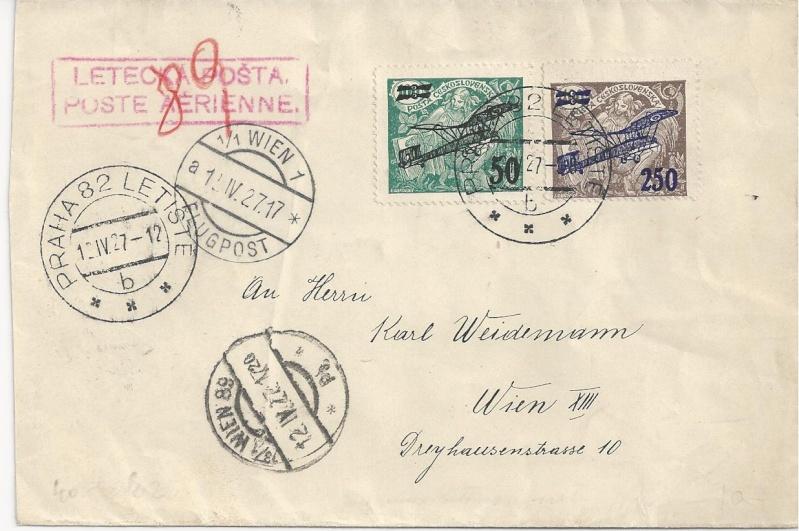 nach - Flugpost nach Österreich Bild58