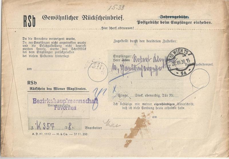 Österreich im III. Reich (Ostmark) Belege - Seite 6 Bild62