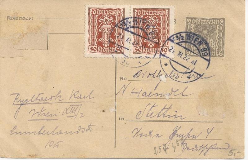 Inflation in Österreich - Belege - 1918 bis 1925 - Seite 5 Bild64