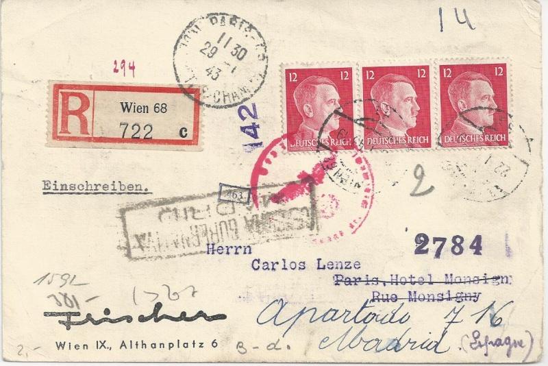 Österreich im III. Reich (Ostmark) Belege - Seite 6 Bild67