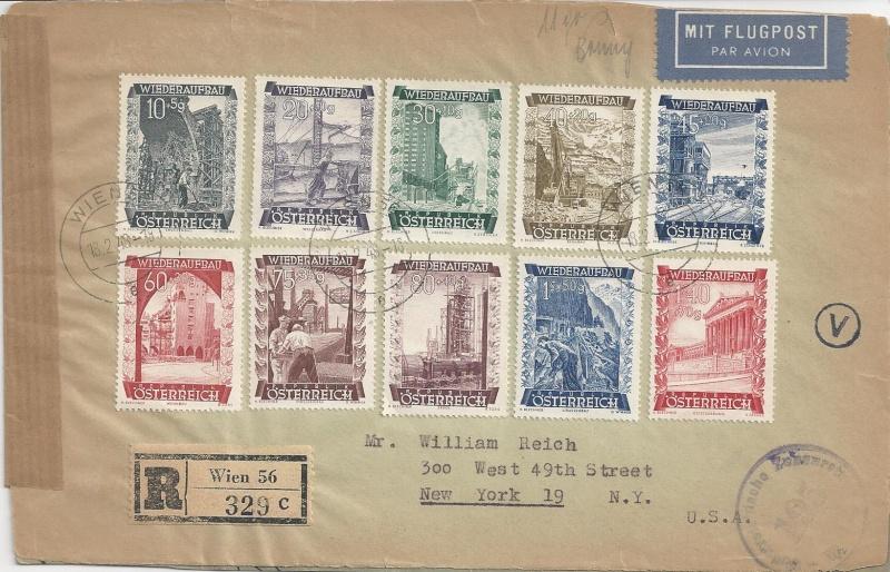 Sammlung Bedarfsbriefe Österreich ab 1945 - Seite 6 Bild68
