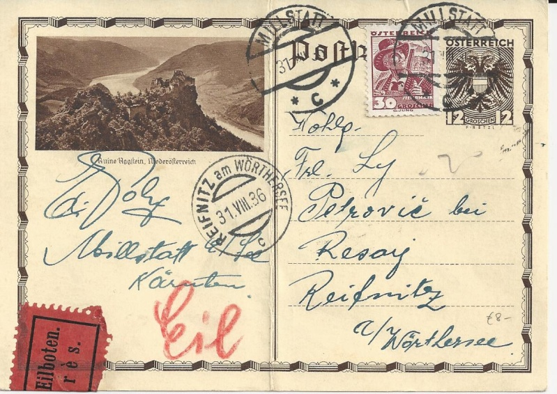 Bedarfspost Ganzsachen Österreich 1925-1938 Bild_111