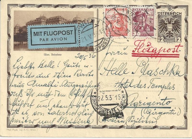 Bedarfspost Ganzsachen Österreich 1925-1938 Bild_112