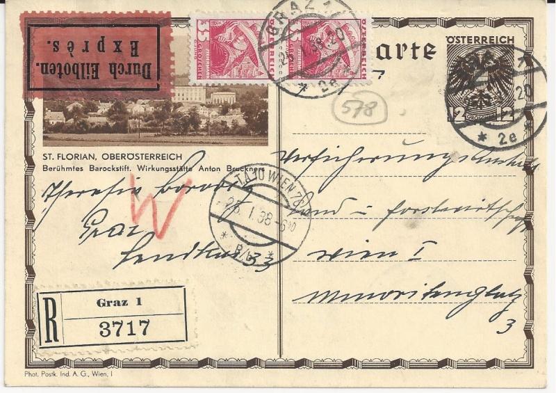 Bedarfspost Ganzsachen Österreich 1925-1938 Bild_113