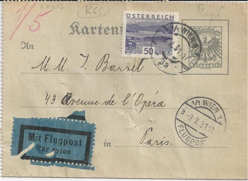 Bedarfspost Ganzsachen Österreich 1925-1938 Bild_117