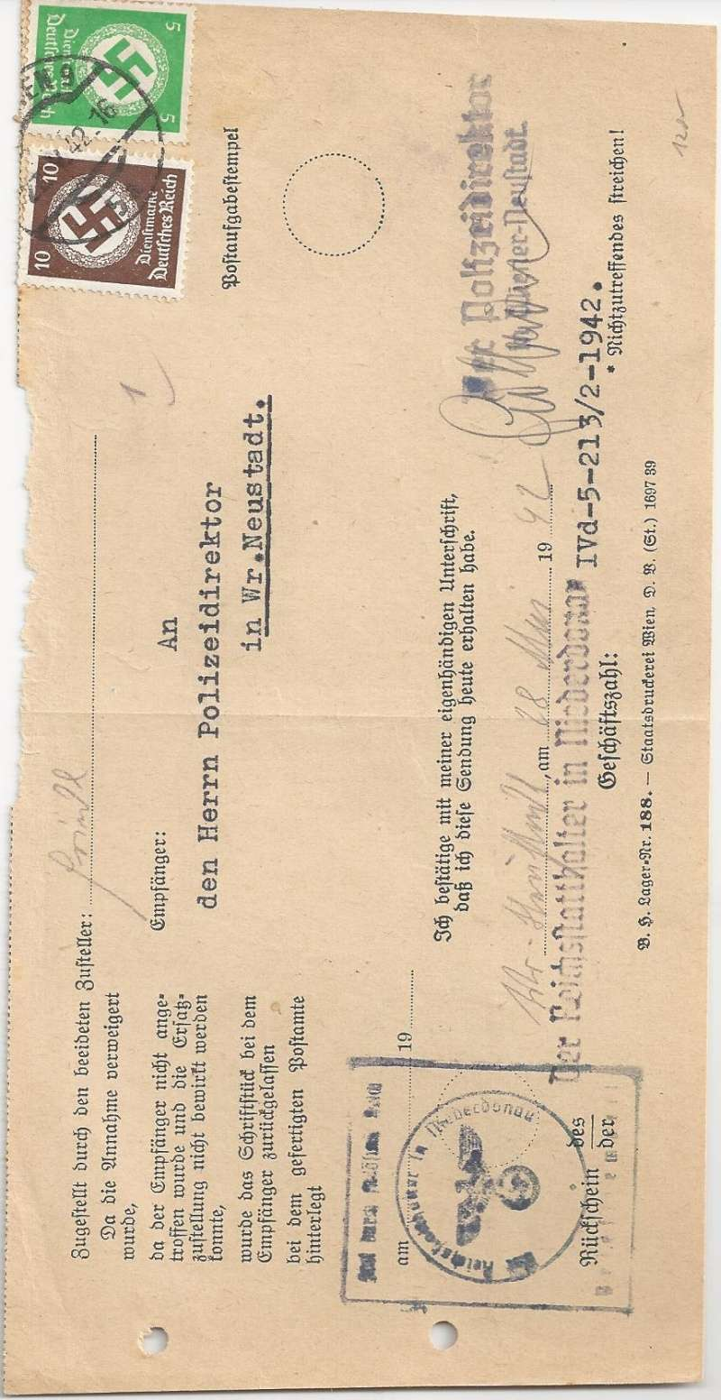 Österreich im III. Reich (Ostmark) Belege - Seite 6 Bild_132