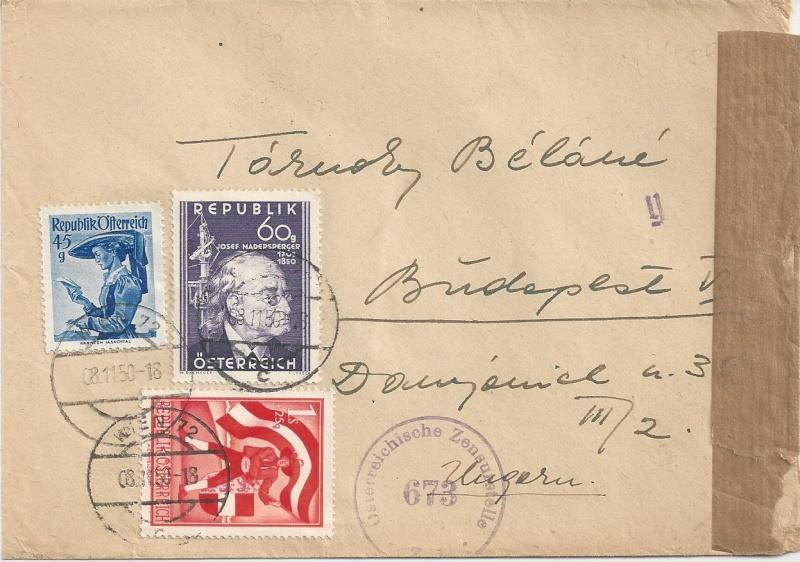 Sammlung Bedarfsbriefe Österreich ab 1945 - Seite 6 Bild_141