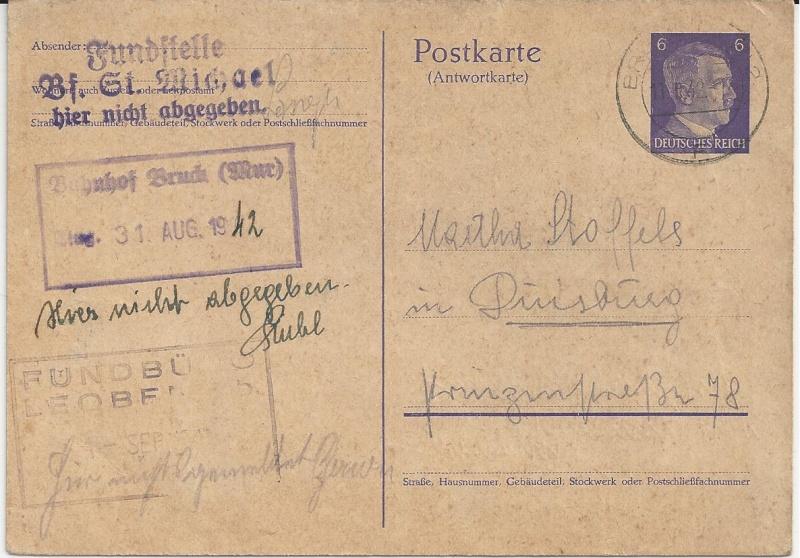Österreich im III. Reich (Ostmark) Belege - Seite 6 Bild_219