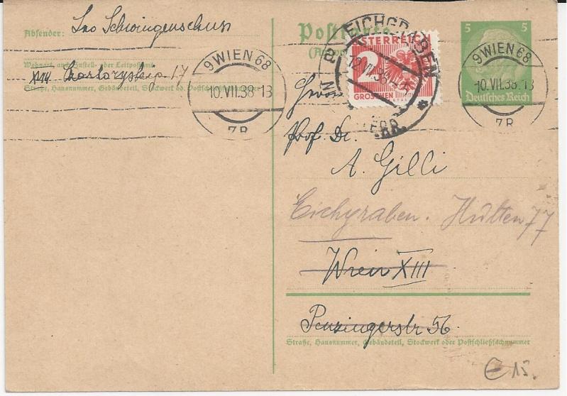 Österreich im III. Reich (Ostmark) Belege - Seite 6 Bild_227