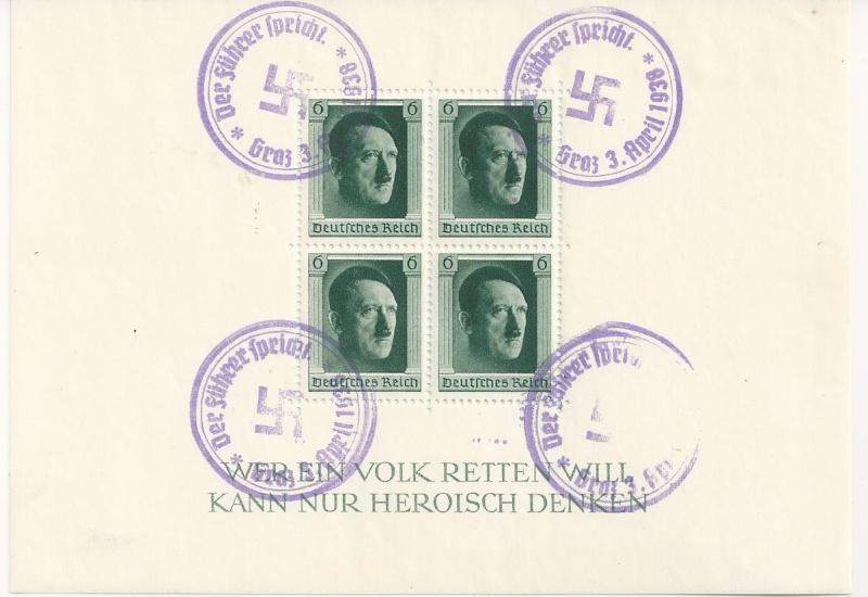 Österreich im III. Reich (Ostmark) Belege - Seite 6 Bild_235