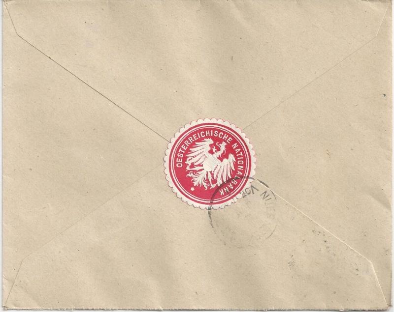 Briefe / Poststücke österreichischer Banken - Seite 3 Bild_237