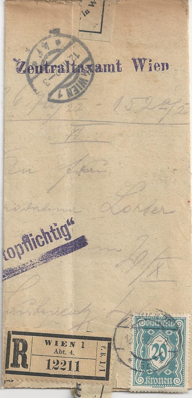 Inflation in Österreich - Belege - 1918 bis 1925 - Seite 5 Bild_243