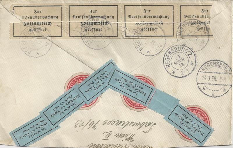 Österreich im III. Reich (Ostmark) Belege - Seite 6 Bild_246