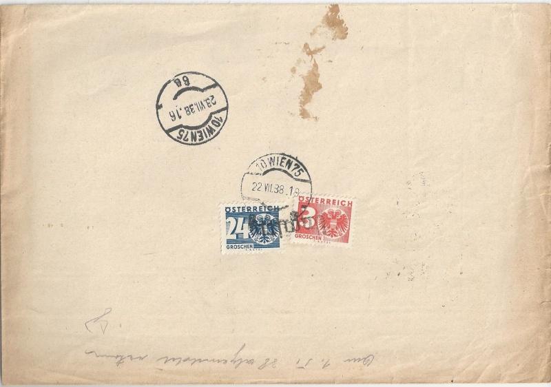 Österreich im III. Reich (Ostmark) Belege - Seite 6 Bild_252