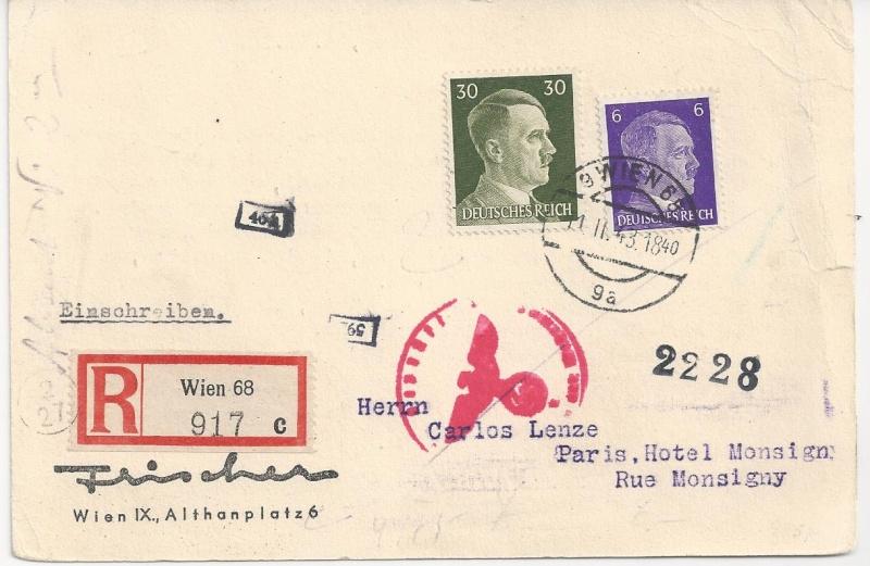 Österreich im III. Reich (Ostmark) Belege - Seite 6 Bild_254