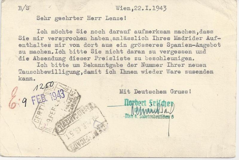 Österreich im III. Reich (Ostmark) Belege - Seite 6 Bild_255